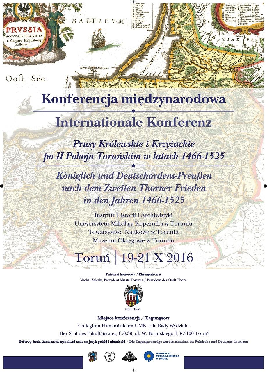 Towarzystwo Naukowe W Toruniu Aktualności Konferencja